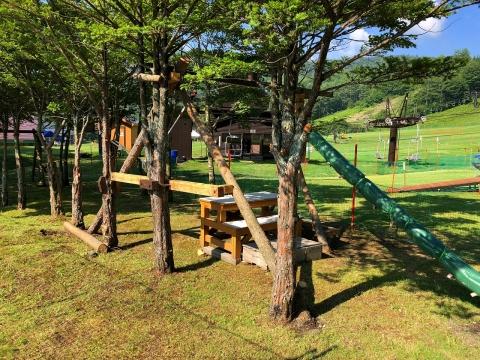 天狗山プレイゾーンにキッズパークがオープン!